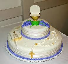 pasteles de primera comunion para nino