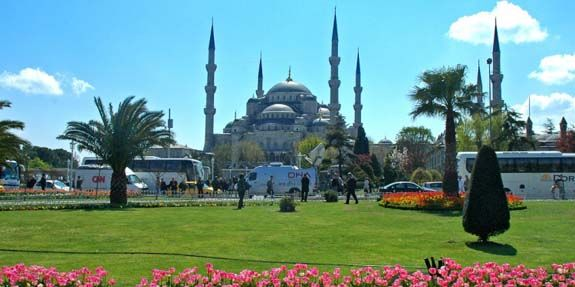 The Sultan Ahmed Mosque (Turkish: Sultan Ahmet Camii) is a historic mosque in Istanbul.