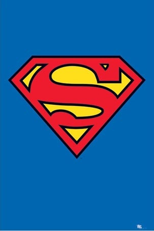Superman Logo - Iconic Superhero (Need this to reference as a draw some visuals)