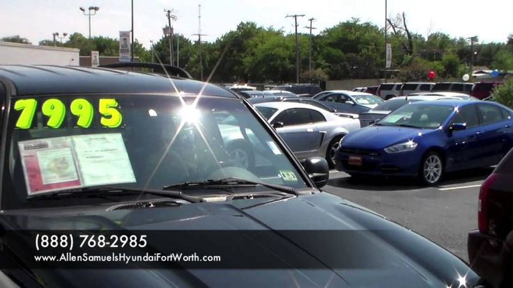 Dallas TX Allen Samuels Used Cars vs Carmax vs Cargurus Sales - craigslist el paso