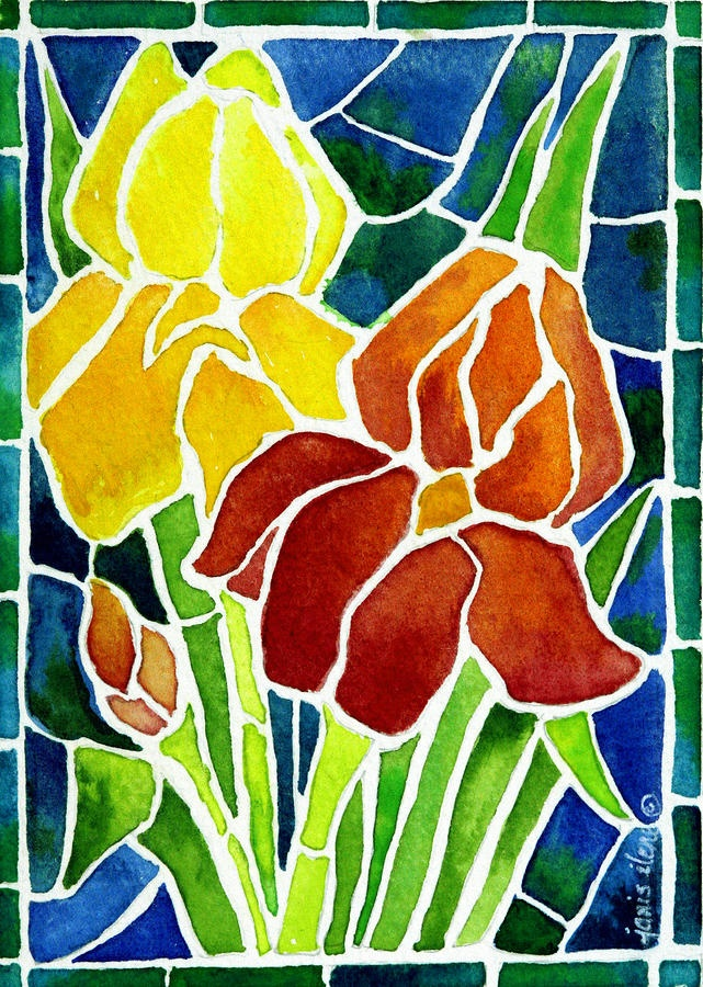 Fabulous 119 best painted stained glass images on Pinterest | Stained glass  DY54