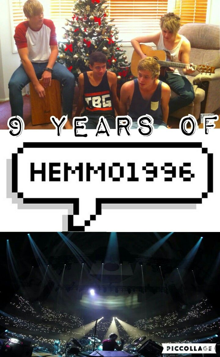 CAN'T BELIEVE IT'S BEEN 9 YEARS OF HEMMO1996. @ashtonbrah