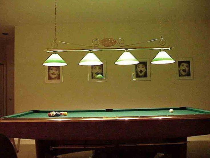 Hanging pool table light fixtures pool table lighting