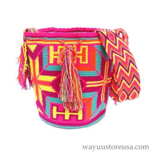 Wayuu Bag , handame by the Wayuu Indigenous ~wybag-271