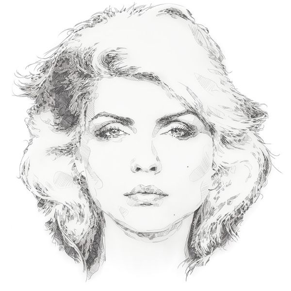 'Blondie'  This is a limited edition fine art print of the wonderful 'Debbie Harry'. These are for sale on Morgan.ie. cheers. #art #illustration #drawing #prints