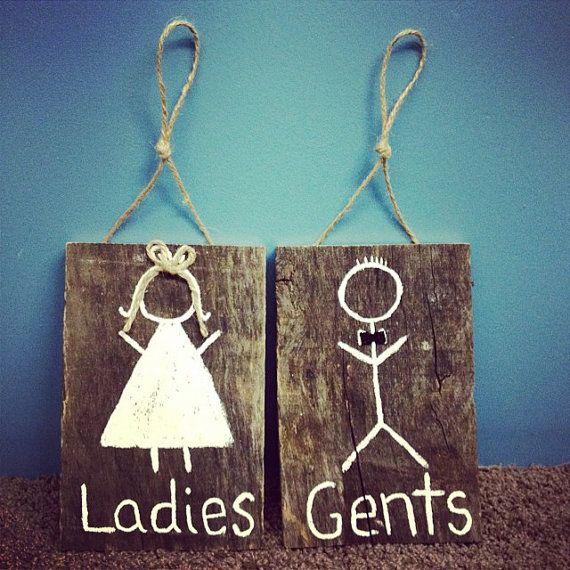 Best 25 Restroom Signs Ideas On Pinterest