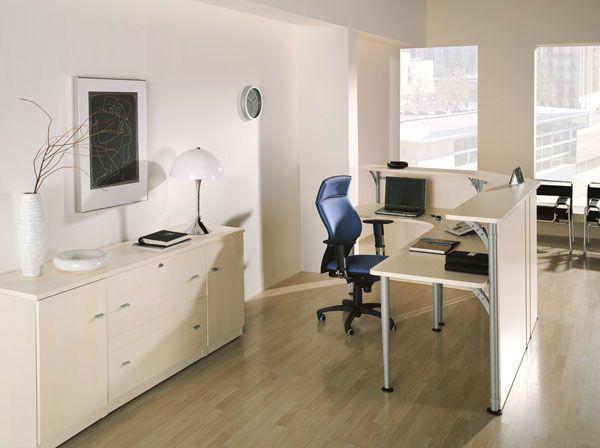 recepciones de oficina color blanco