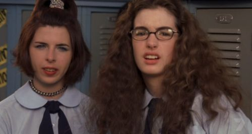 Mia and Lily - Princes Diaries-This is a funny picture!