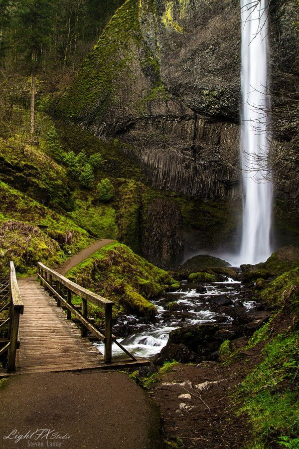 Latourell Falls Oregon One of the