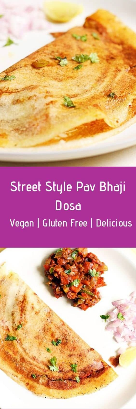 Pav bhaji dosa recipe is a popular and tasty Indian street food. Pav bhaji dosa …