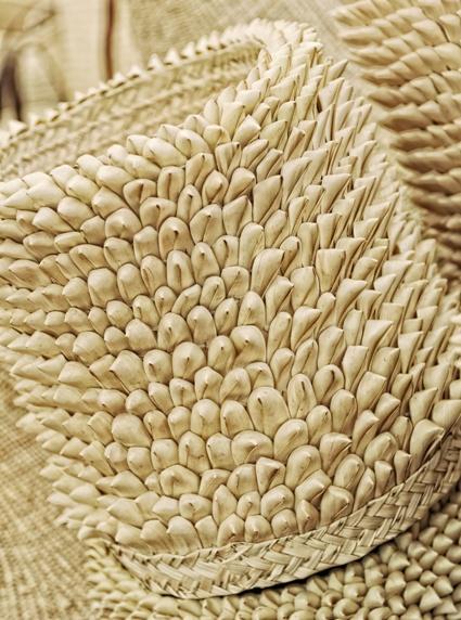 Zimbabwean porcupine baskets