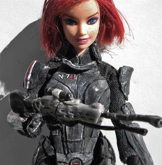 Space Captain Barbie Dolls