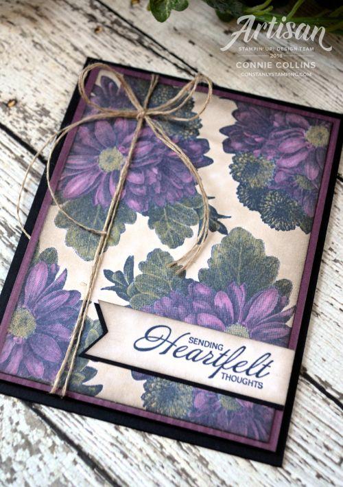 Heartfelt Blooms Card by Artisan Design Team member, Connie Collins