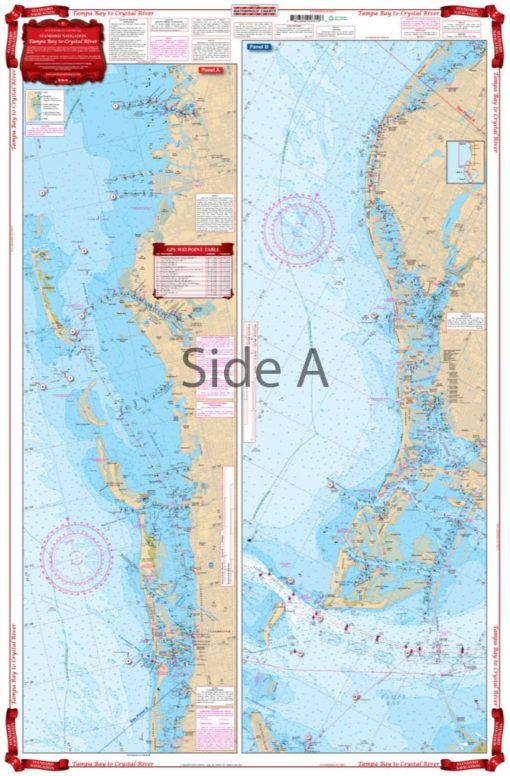 Florida Intracoastal Waterway Map.Complete Singular And Intracoastal Waterways Detail From Anna Maria