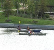 Kayaking on The Woodlands  waterway