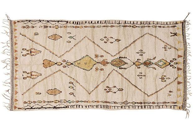 Vintage Morrocan Tribal Rug