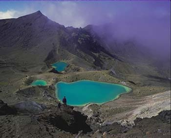 Pictures of New Zealand: Thermal activity in Tongariro National Park