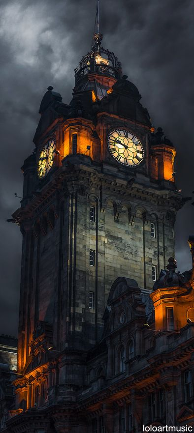 Balmoral Hotel, Edinburgh, Scotland