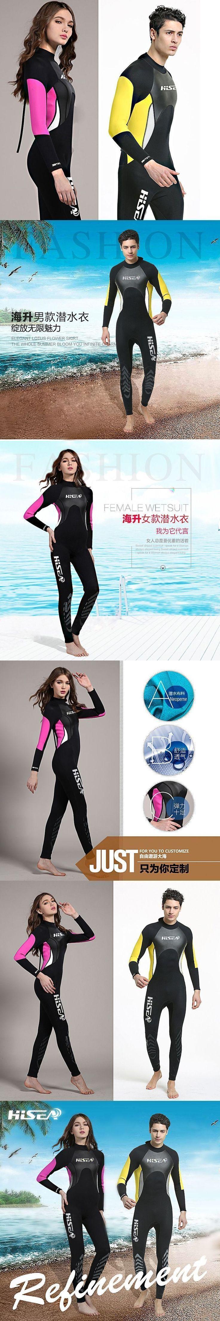 3mm Neoprene Wetsuit Men Women Swimsuit Equipment For Diving Scuba Swimming Surfing Spearfishing Suit Triathlon Wetsuits #scubadivingequipmentwetsuit