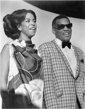 Della Reese and Ray Charles