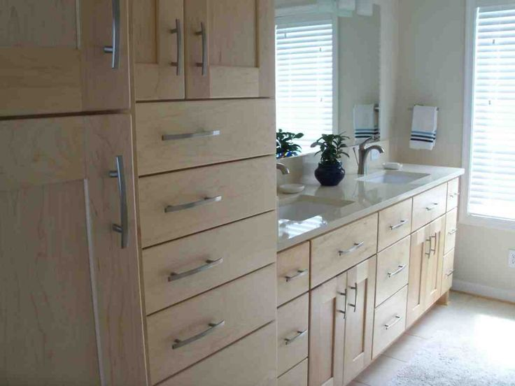 Bathroom Vanities With Matching Linen Cabinets