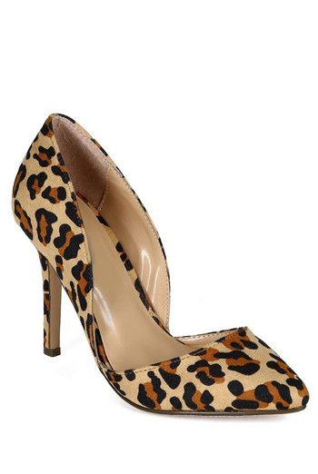 Leopard Pump Heels from Chlotique