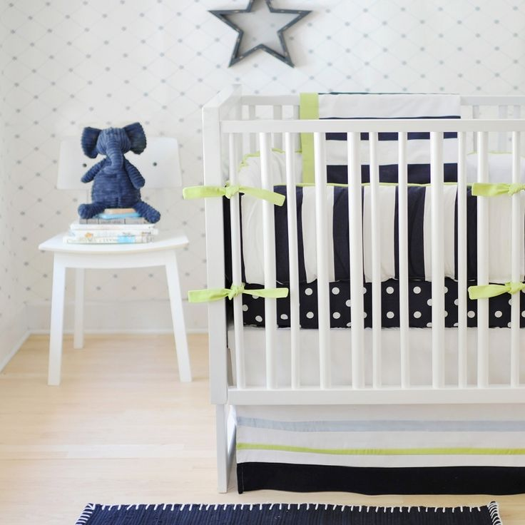 New Arrivals Hudson Street Crib Bedding Set