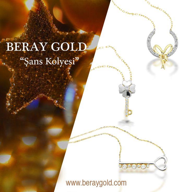 Yeni yılda size şans getirecek ikonlar 14 ayar altın, BERAY GOLD şans kolyeleri