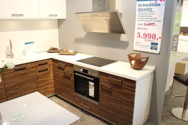 Küchen im Abverkauf bei Pfiff Möbel Preiswerte Einbauküchen - komplett küchen mit elektrogeräten günstig