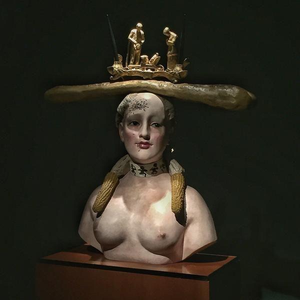 Carlota's tip at Museo Botero