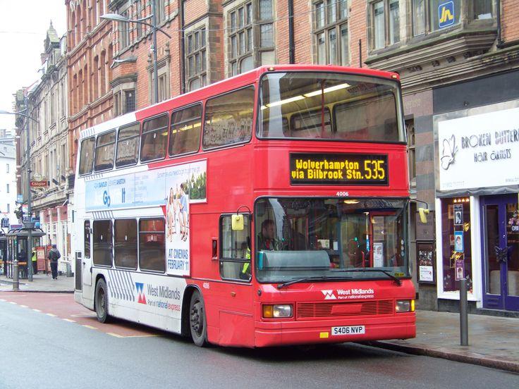 National Express West Midlands Optare Spectra Fleet No 4006 in Wolverhampton