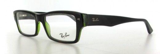 Ray Ban - Lunettes de Vue Ray Ban RX5254 Col 2383 HAVANA SUR VERT OPAL moins cheres