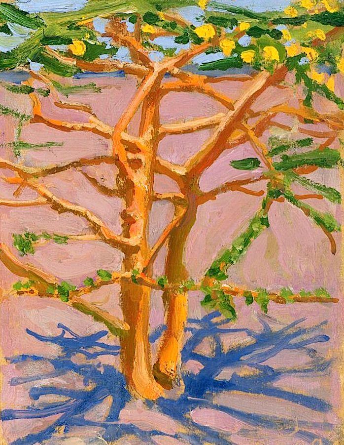 """""""Acacia on the Savannah"""", Akseli Gallen-Kallela, 1909"""