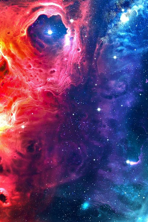 I love pictures that have a nebula and stars compiled with colorful night skies, there is nothing else like it...