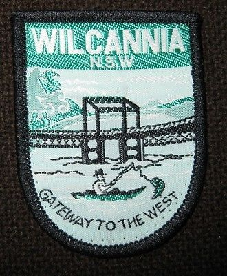 Wilcannia, NSW Gateway to the West, Souvenir Woven Cloth Badge/Patch in Collectables | eBay