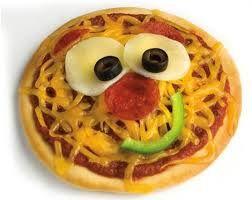 Resultado de imagen para mini pizzas divertidas