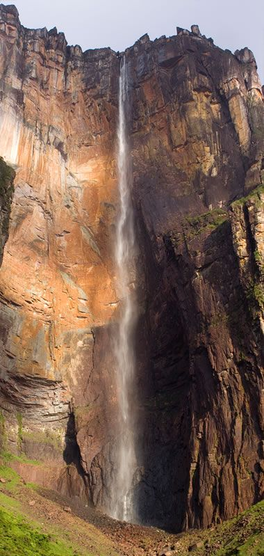 Angel Falls  - Highest Waterfall in the World - Tallest in the United States - GEOLOGY.COM