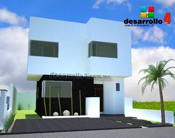 Render de una casa con 108mts. El Refugio Residencial. Querétaro, QRO.