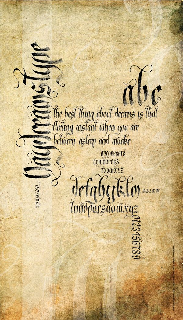 Caligrafía by Mariana Uccello #gothic #calligraphy #blackletter