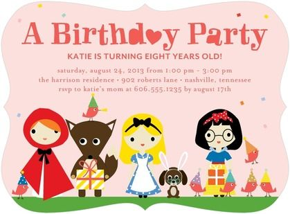 17 Best images about Birthday invitations online – Party Online Invitations