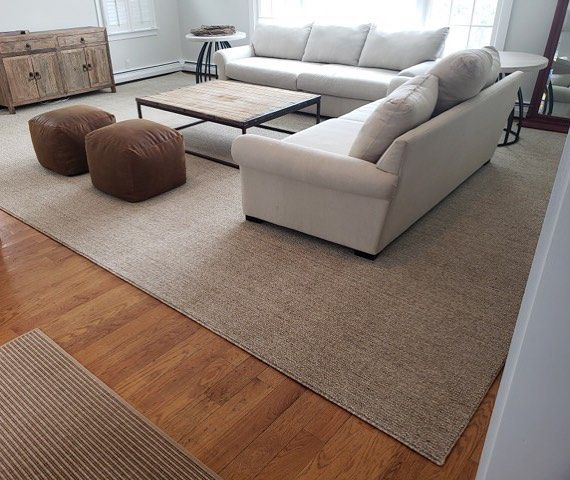 Neutrally Grounded And Ready For Living This Extra Large Area Rug Fabricated Specifically For This Space B Extra Large Area Rugs Large Area Rugs Area Rugs