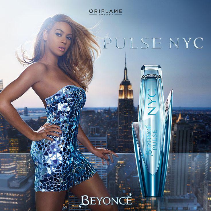 #Beyoncé y Nueva York son sinónimo de fuerza, actitud y estilo. Saca a la diva poderosa que llevas dentro y devórate al mundo. ¡#Pulse es el aroma del poder femenino! #OriflameMX #Fragancia