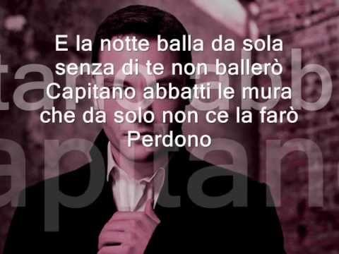 PERDONO tiziano ferro lyric (Learn italian singing) - YouTube