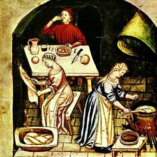 Il banchetto dell'uomo medievale: cibi, bevande e cultura ~ Il Manoscritto del Cavaliere