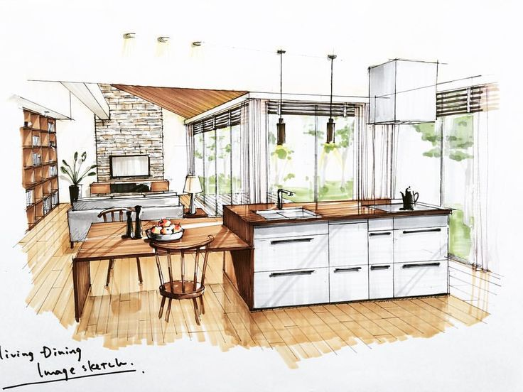 1000 ideas about interior sketch on pinterest interior for Architecture interieure maison