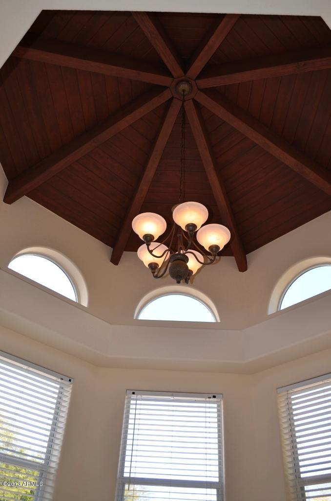 Love the ceiling detail and the lighting!