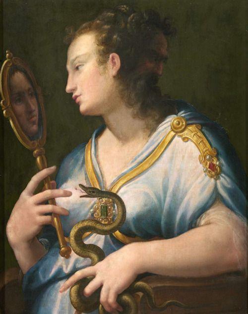 Girolamo Macchietti - Allegory of Prudence (1570s)