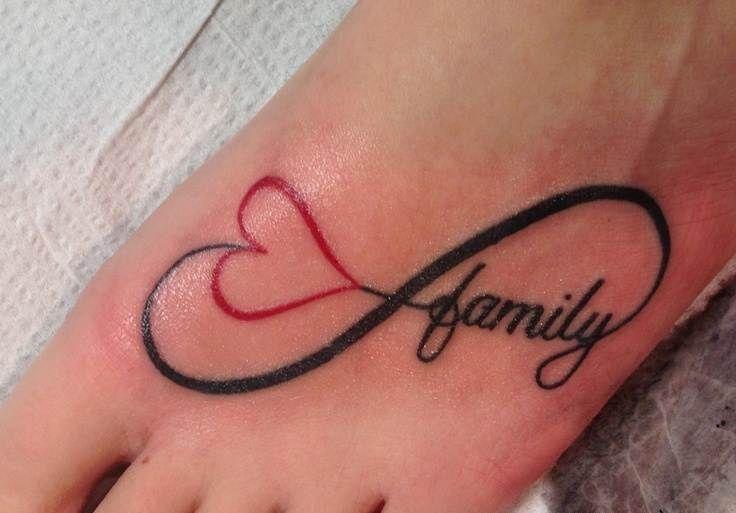 Infinity Tattoo Family