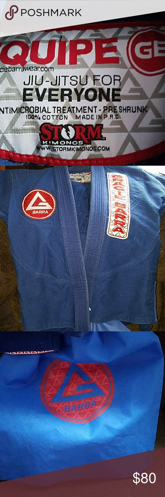 GRACIE BARRA GI Basically new only wore once and washed once this is a high quality professional gi EQUIPE Matching Sets