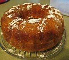 Fuzzy Navel Cake